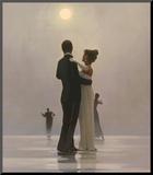 Dansend paar: Dance Me to the End of Love Kunst op hout van Vettriano, Jack