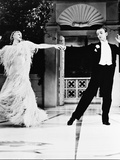 Fred Astaire & Ginger Rogers Metal Print
