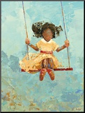 Swing No. 11 Monteret tryk af Rebecca Kinkead