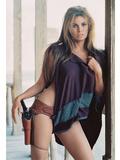 Raquel Welch Metalltrykk