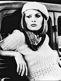 Faye Dunaway Metalltrykk