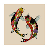 Two Koi Affiche par Sharon Turner