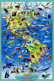 100 Endangered Species Prints by Adrian Chesterman