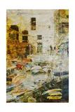 Gold Mediterrane 02 Schilderijen van Joost Hogervorst