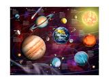 Solar System 2 (Variant 1) Posters par Garry Walton