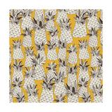 Pineapple Sunshine Yellow Posters par Sharon Turner