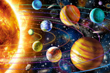 Planetary System Prints by Adrian Chesterman