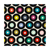 Vinyl (Variant 1) Premium gicléedruk van Sharon Turner