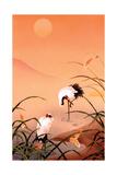 Oiseaux Poster par Haruyo Morita