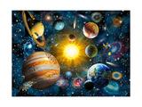 Notre système solaire Affiches par Adrian Chesterman