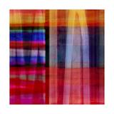 Abstract Cross Lines II Kunst van Joost Hogervorst