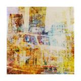 City Collage - New York 07 Schilderijen van Joost Hogervorst