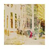 City Collage - New York 08 Schilderij van Joost Hogervorst