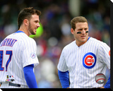 Kris Bryant & Anthony Rizzo Stretched Canvas Print