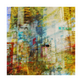 City Collage - New York 03 Poster van Joost Hogervorst