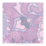 Paisley Blossom Pink III Posters by Leslie Mark