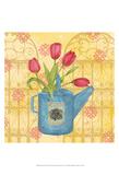 Garden Gift I Print by Leslie Mark