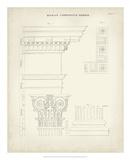 Greek & Roman Architecture IV Giclee Print by Thomas Kelly