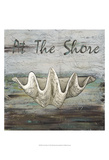At the Shore I Print by Jade Reynolds