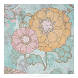 French Peony III Print by Leslie Mark