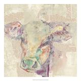 Farm Collage II Posters af Jennifer Goldberger