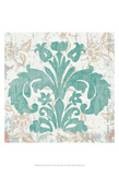 Damask Stamp III Posters by Leslie Mark