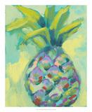 Vibrant Pineapple I Posters tekijänä Jennifer Goldberger