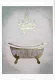 Metallic Foil Gilded Bath II Posters tekijänä Grace Popp