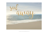 Beach Sail Away Posters by James McLoughlin