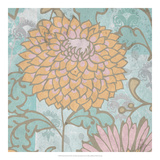 French Peony II Prints by Leslie Mark