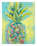 Vibrant Pineapple II Poster tekijänä Jennifer Goldberger