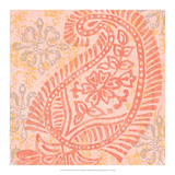 Block Print Paisley I Posters by Leslie Mark