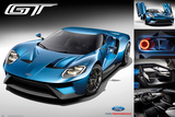 Ford Gt 2016 Poster