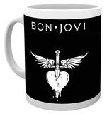 Bon Jovi - Logo Mug Taza