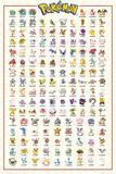 Pokemon- Kanto 151 Posters