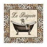 Leopard Bathtub Poster di Todd Williams