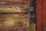Weathered Door I Photographic Print by Kathy Mahan