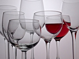 Wine Glasses Reproduction photographique par Monika Burkhart
