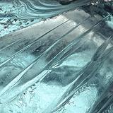 Blue Ice II Reproduction photographique par Monika Burkhart