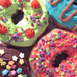 Doughnut Choices I Reproduction photographique par Monika Burkhart