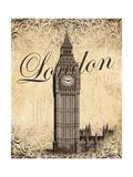 Londres Posters par Todd Williams
