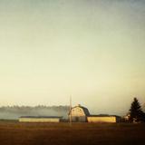 Sun on the Barn Impressão fotográfica por Roberta Murray