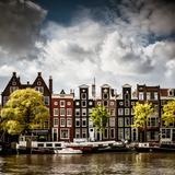 Amsterdam Canal II Reproduction photographique par Erin Berzel