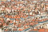 Lyon Rooftops II Reproduction photographique par Erin Berzel