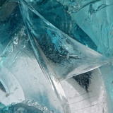 Blue Ice I Reproduction photographique par Monika Burkhart