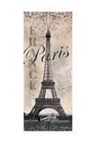 Eiffeltårnet Posters af Todd Williams