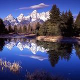 Grand Teton National Park VII Fotografisk tryk af Ike Leahy