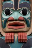 Native American Todem I Reproduction photographique par Kathy Mahan