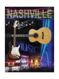 Nashville Poster by Todd Williams