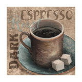 Blue Specialty Coffee II Art by Todd Williams